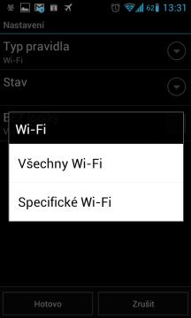 Pravidlo typ Wi-Fi