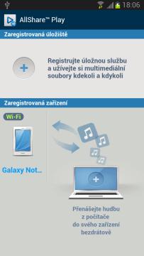 Aplikace AllShare