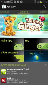 V Obchodě Play najdete tisíce aplikací