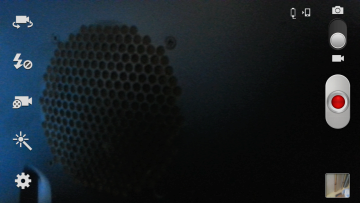 Aplikace Fotoaparát v režimu natáčení videa
