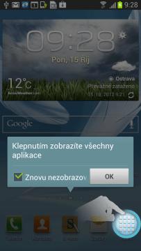 Víte, jak se dostat do seznamu aplikací?