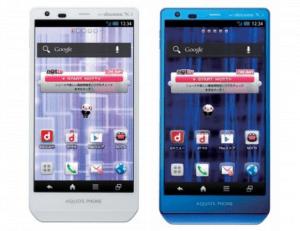 Sharp Aquos Phone Zeta SH-02E