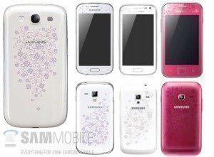 Nové telefony v květinkové edici La Fleur