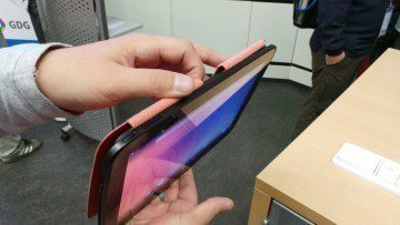 Google Nexus 10 horní strana