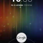 Nexus 4 lock screen1