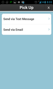 Požadavek lze poslat e-mailem nebo SMSkou