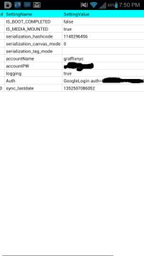 Aplikace S Poznámka uchovává heslo k účtu Google v čitelné podobě