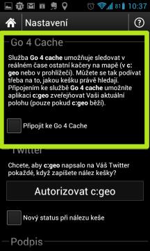 Služba Go 4 Cache umožňuje vzájemné sledování mezi kačery.