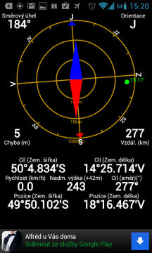 Navigace radarem