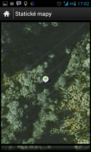 Statické mapy pomohou  v místech, kde není dobrý signál mobilních sítí