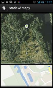 Statické mapy mohou významně pomoci při hledání.