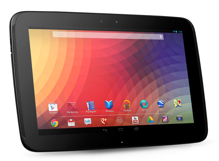 google nexus 10 main