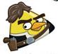 han solo angry bird