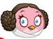 leia angry bird