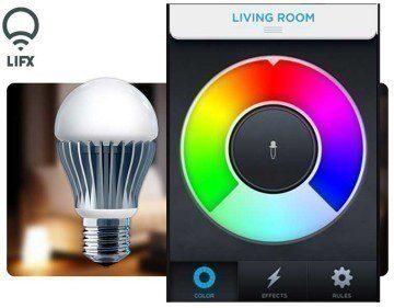 LiFx: žárovka ovládaná chytrým telefonem