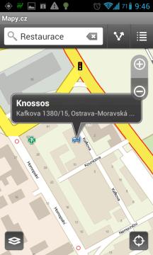Mapy.cz: mapa