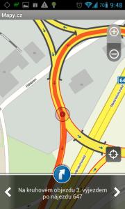 Mapy.cz: na kruhovém objezdu pokračujte protisměrem