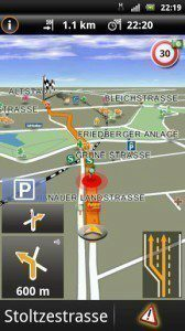 Navigon Europe: asistent jízdy v pruzích