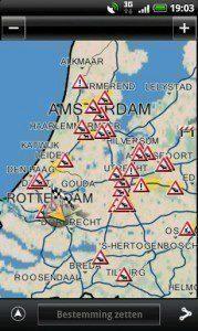 Navigon Europe: nehody a dopravní komplikace