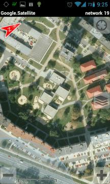 RMaps: mapové satelitní snímky Google
