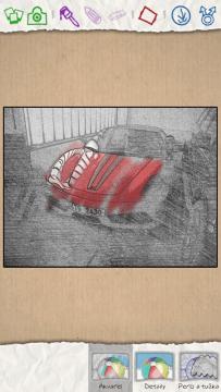 Aplikace Paper Artist z Galaxy Note II