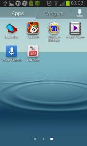 V seznamu aplikací by měla přibýt nová ikonka SuperSU