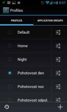 Alternativní ROM CyanogenMod podporuje profily nativně