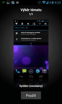 Alternativní ROM CyanogenMod podporuje grafická témata