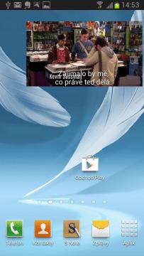 Samsung umí přehrávat video v plovoucím okně