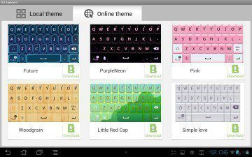 GO-Keyboard-themes