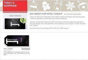 Kredit ve výši 35 dolarů při první rezervaci hotelu skrze aplikaci Hotel Tonight