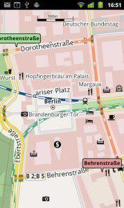 Mapové podklady OSM