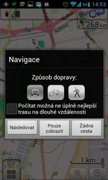 Na cestu se můžete vydat autem, na kole, nebo pěšky