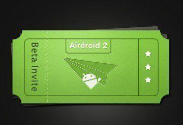 AirDroid 2.0: beta-testování na pozvánku