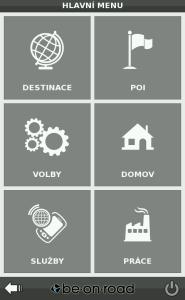 Nový vzhled aplikace zaměřený na jednoduchost ovládání