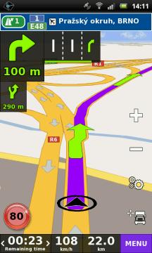 TRUCK GPS NAVIGACE