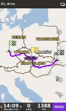 be-on-road je první navigace, která nabízí mapy od různých mapových poskytovatelů