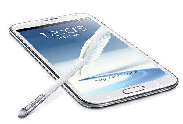 Samsung Galaxy Note II zaujme obrovským displejem a přesným stylusem S-Pen