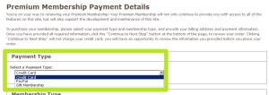 Zvolte způsob platby
