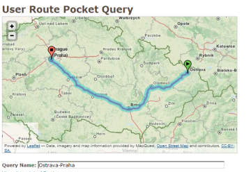 Nastavte si Pocket Query