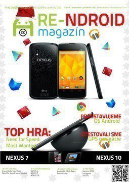 První číslo časopisu RE-NDROID