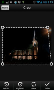 Do PDF můžete převést i dříve pořízený snímek