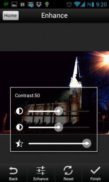 Úpravy snímku před převodem do PDF