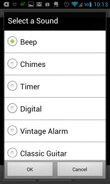 Wave Alarm přichází s deseti vlastními zvuky