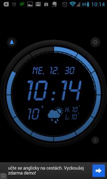 Wave Alarm si zakládá na svém krásném a moderním rozhraní