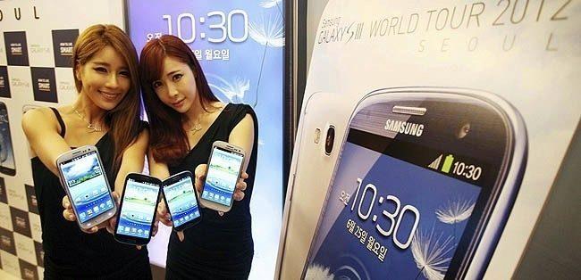 South Korea Samsung Smartphone Sales