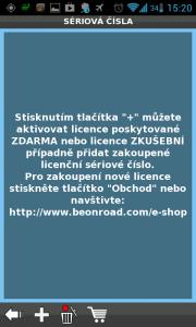 Čtvrtý krok nabídne aktivaci licencí