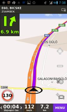 Navigace BE-ON-ROAD v akci