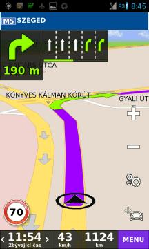 V některých situacích tento způsob navigování pomohl