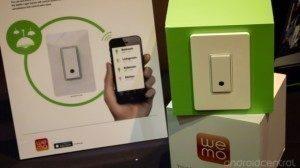 Vypínač Belkin WeMo ovládaný Androidem